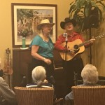 Rick and Margie performing a classic western.