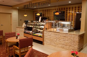 Everything is prepared fresh daily, including seasonal soups, healthy salads and decadent desserts.