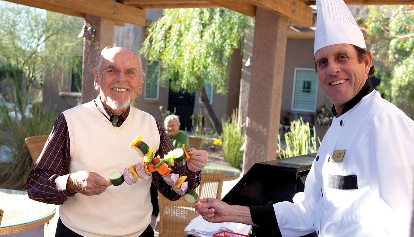 Activities for Seniors at The Fountains at La Cholla