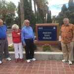 Residents visiting the Arizona State Museum at the University of Arizona campus.