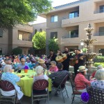 Enjoy the Mariachi band and delicious food, celebrating Cinco de Mayo on the Catalina Patio.
