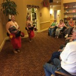 Hula dancers performing another amazing traditional dance.