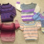 A sampling of the sweaters.