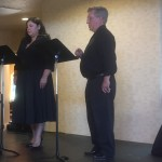 Baritone Larry Alexander and Soprano Vanessa Salaz perform from the opera TOSCA.
