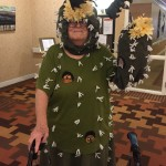 Most creative, Judellen designed a saguaro cactus costume complete with bats and elf owls who live in cactus boots in the saguaros.