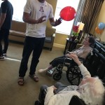 Games with residents.