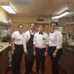 The dining staff.