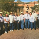 The Ocotillo Rain and Thunder Bluegrass band kicks off Rodeo Week in our community.