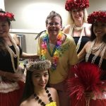 Betty Jo with our dancers after the show.