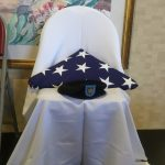 Empty Chair to honor the fallen soldiers.