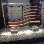 Veterans Day Ice Sculpture for our Annual Celebration of Veterans at Town Center.