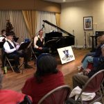 We all enjoyed the Klezmer music and Hanukkah treats!