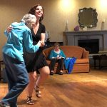 Bertha Wolfe loves dancing and it sure shows!