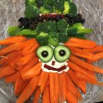 The Naya's at the Gardens, created a fun themed Veggie Tray.