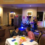 Heather and Stephen entertained us in style!