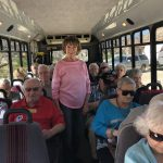 On the Bus at the Amerind Foundation.
