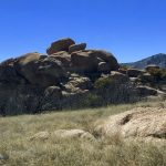 Texas Canyon boulders, against the bluest sky what a beautiful day!
