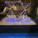 Star of David Ice Sculpture!
